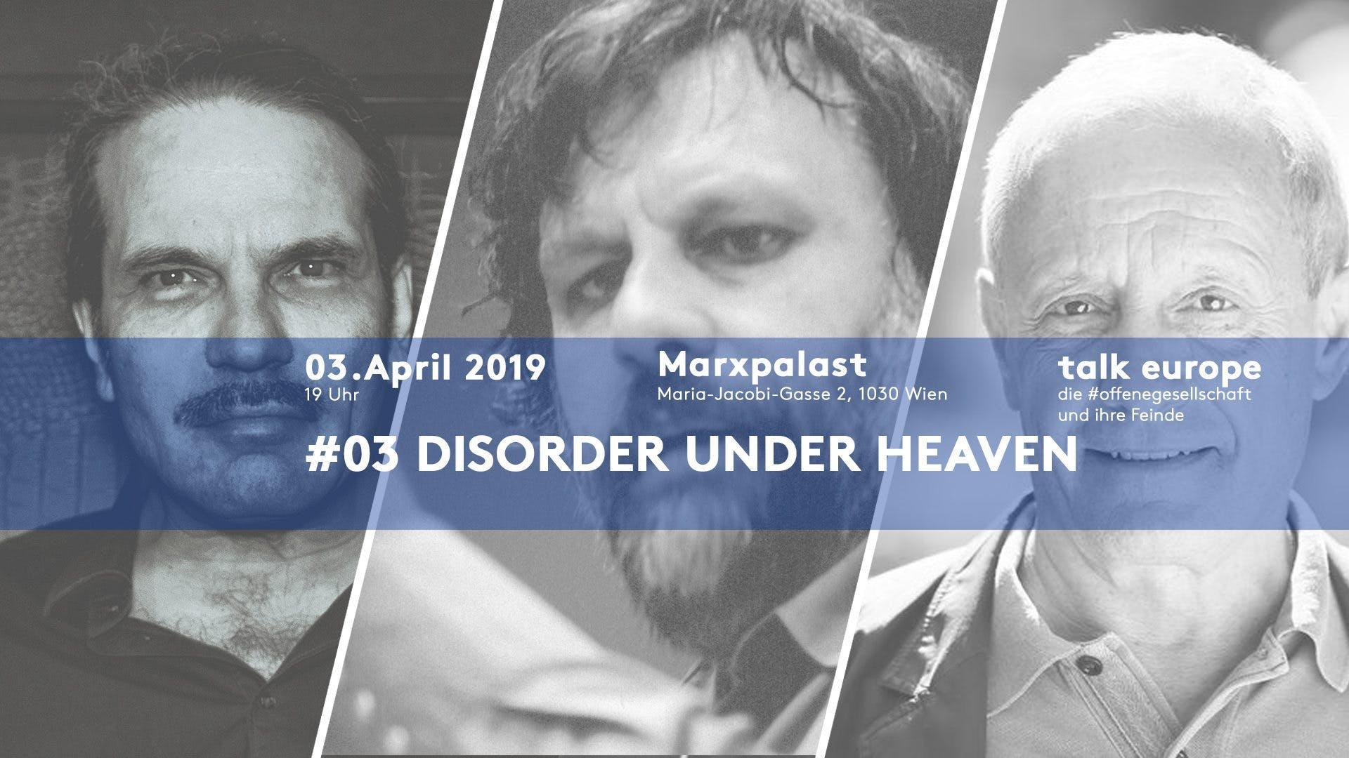 Disorder under Heaven