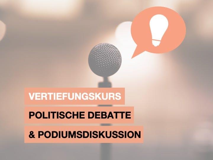 Politische Debatte