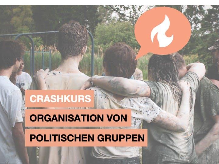 Organisation von politischen Gruppen