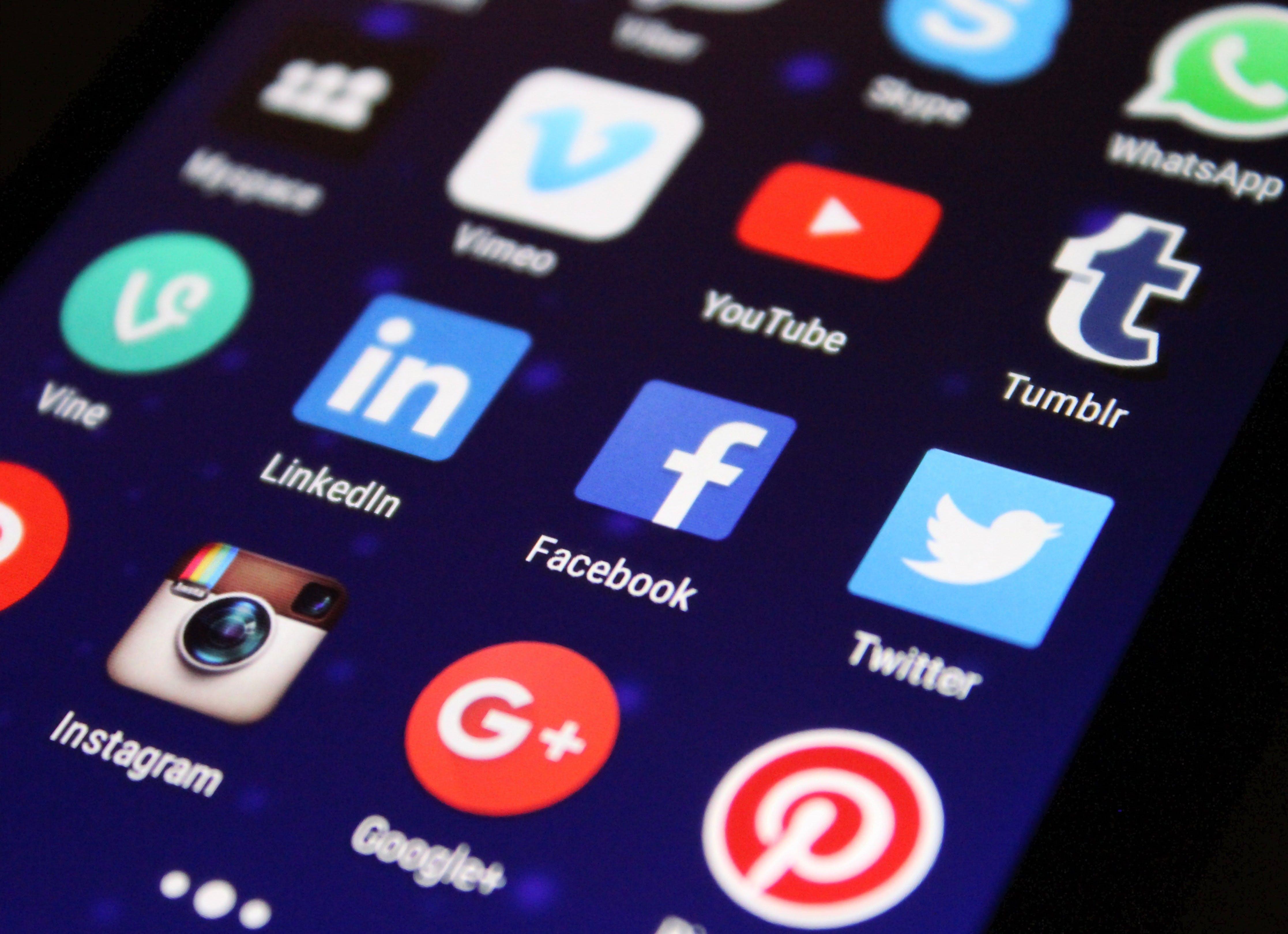 Kommunikation  über Social Media