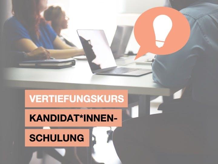 Schulung für Kandidat*inen 5.8.19
