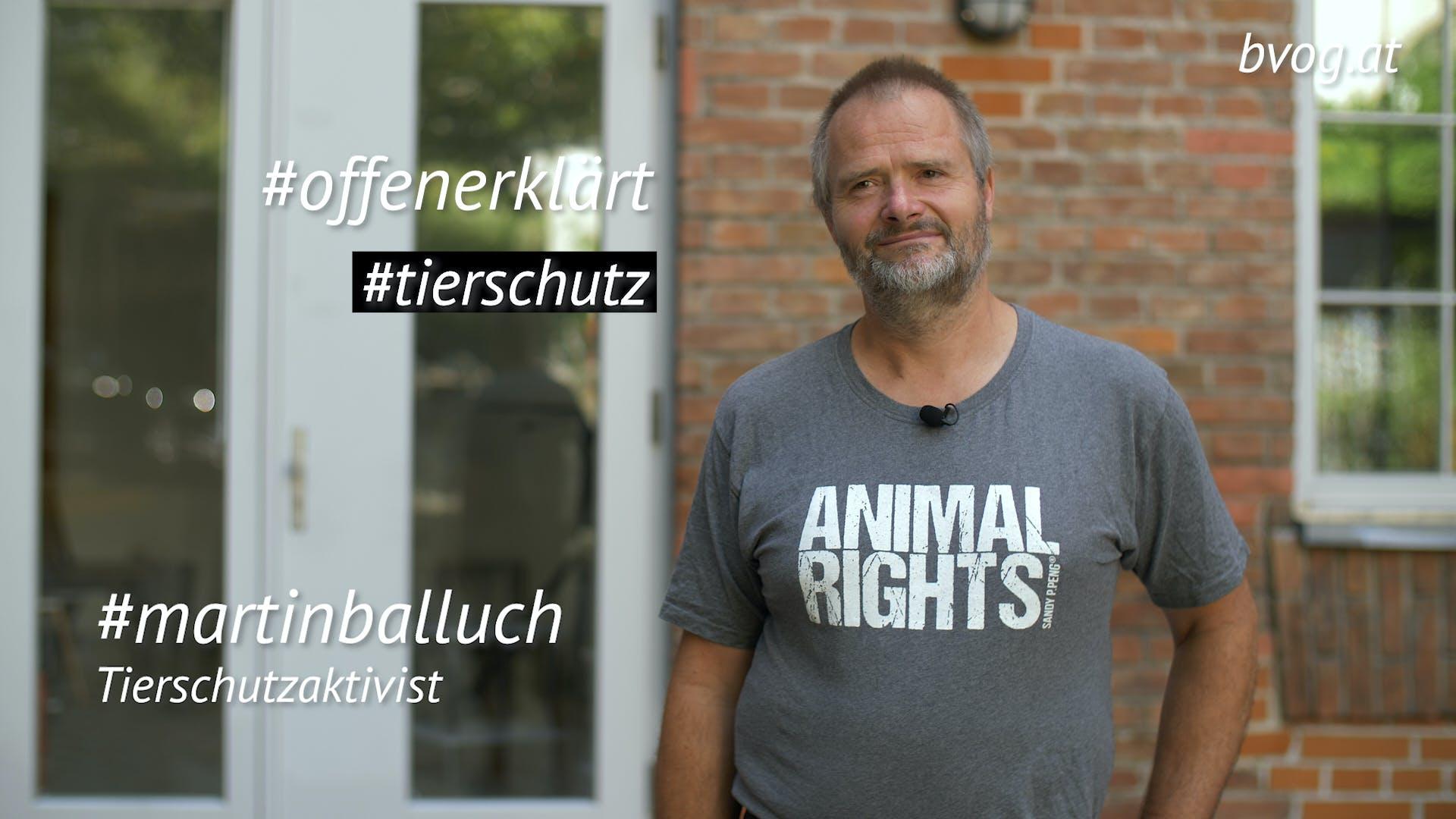 Hintergründe: Tierschutz - Martin Balluch