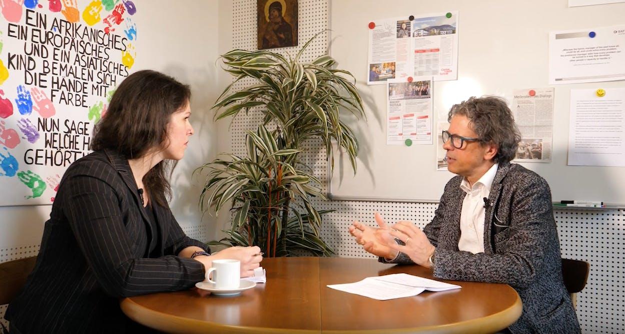 Rolf Spiegel im Interview