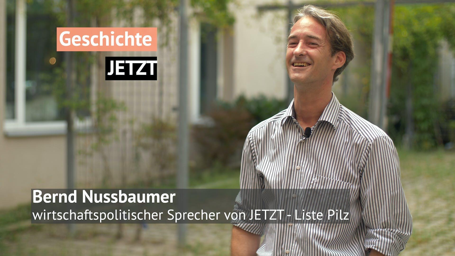 Geschichte JETZT Interview mit Bernd Nussbaumer