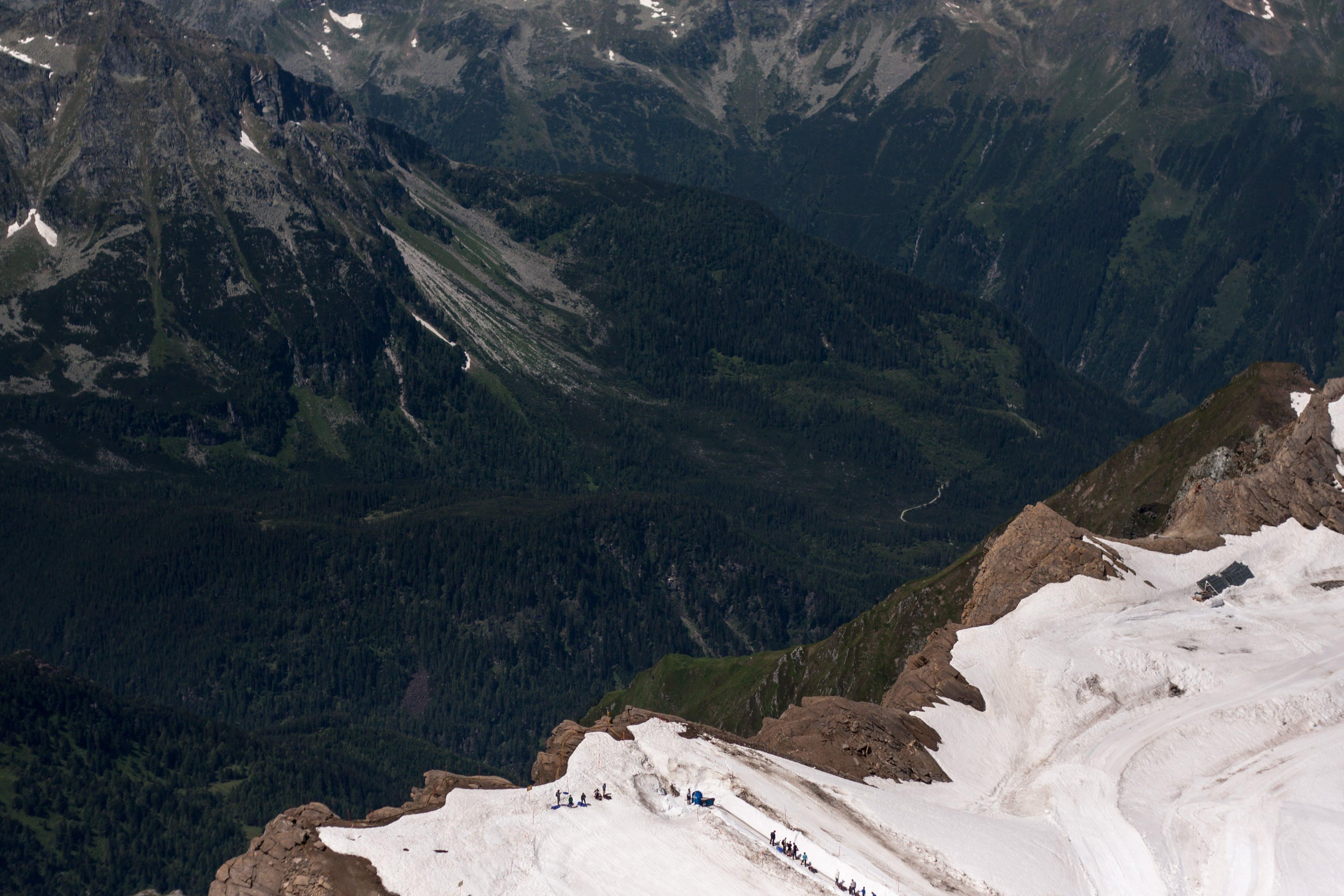 Raum Gletscher der digitalen Ausstellung: www.alpenkrise.at