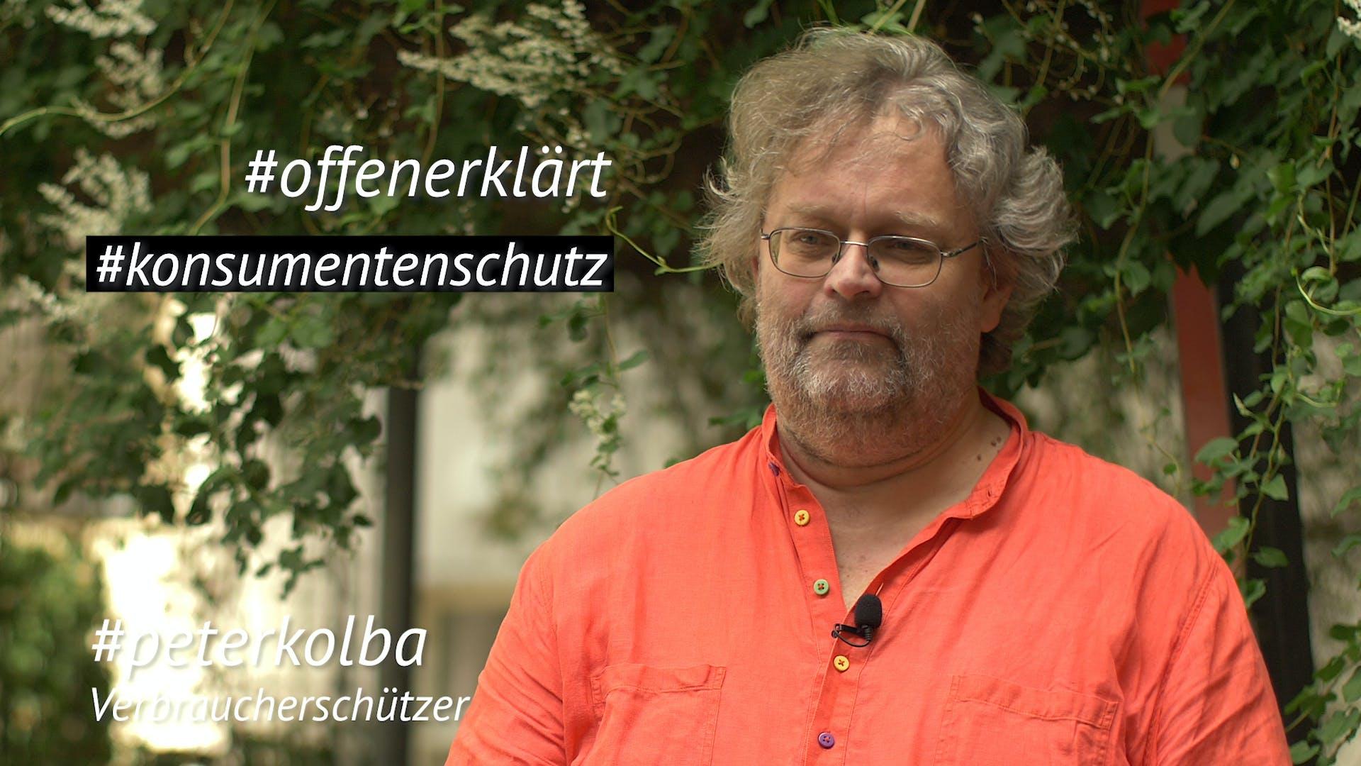 Peter Kolba Konsumentenschutz