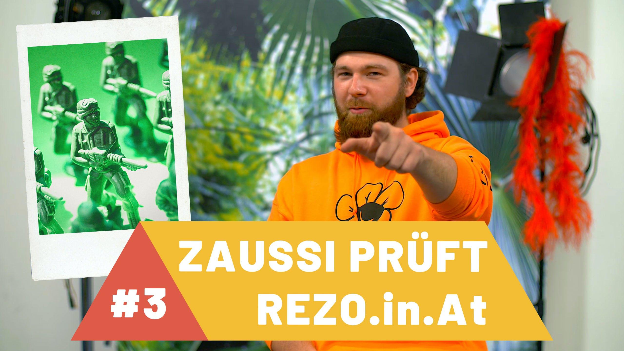 Zaussi prüft Rezo: Krieg
