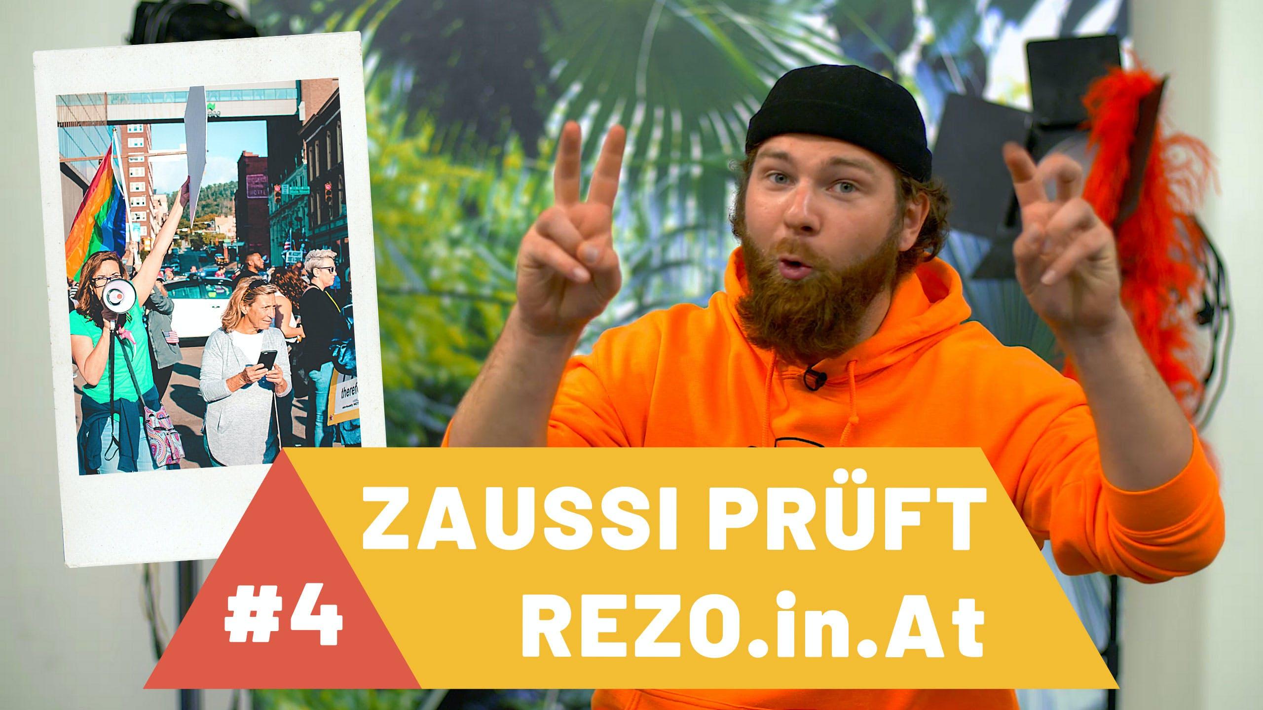 Zaussi prüft Rezo: DISKREDITIERUNG