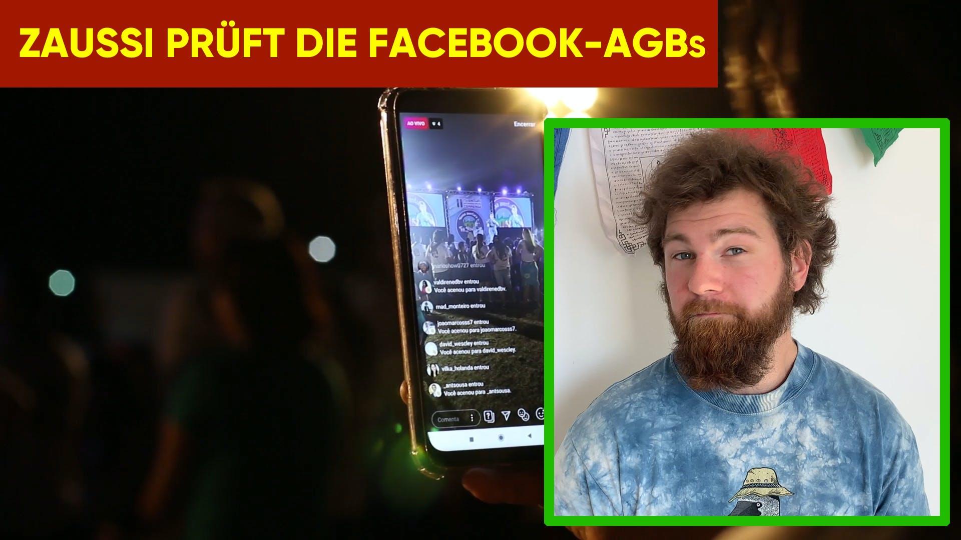 Zaussi prüft Digitalisierung 3: Facebook-AGB
