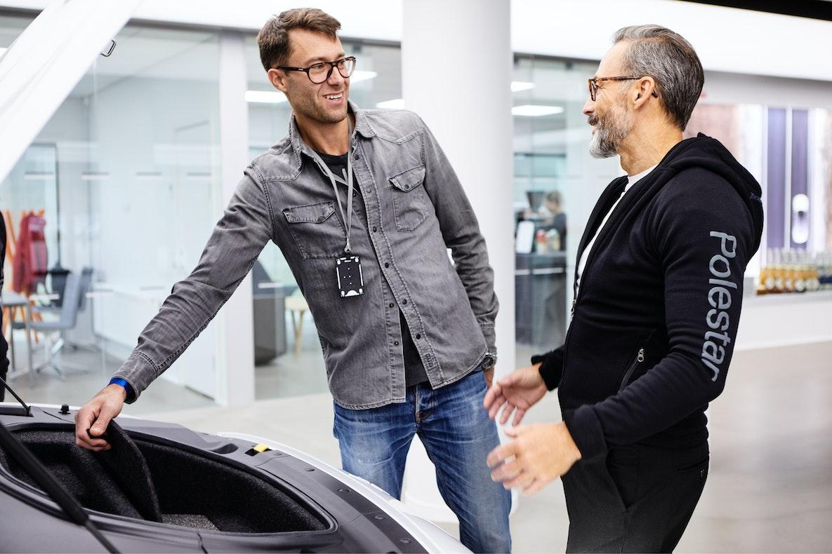 Customer test drive
