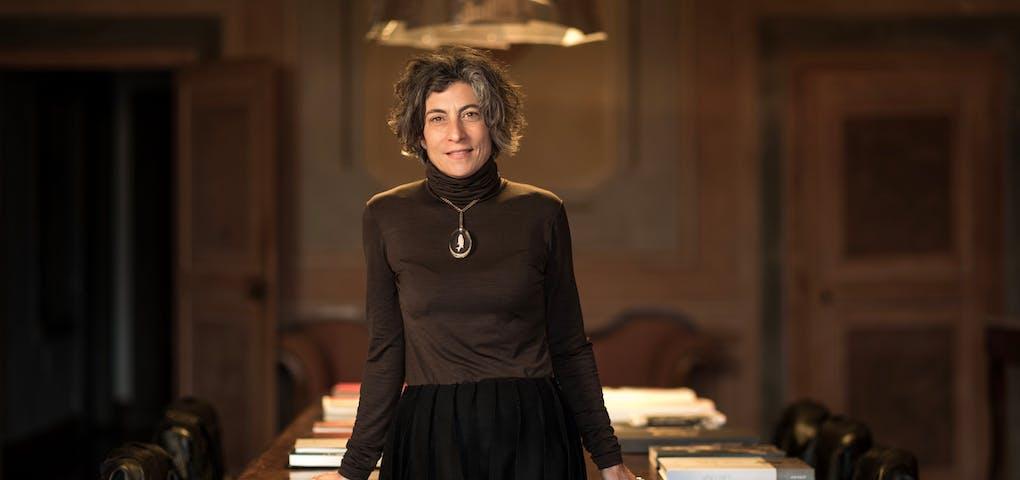 Dal 1993 Lorenza Sebasti è Amministratore delegato del Castello Di Ama