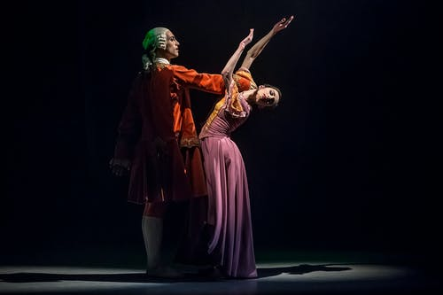 Valmont - Giovanni Rotolo a Alice Petit - Foto Martin Divíšek