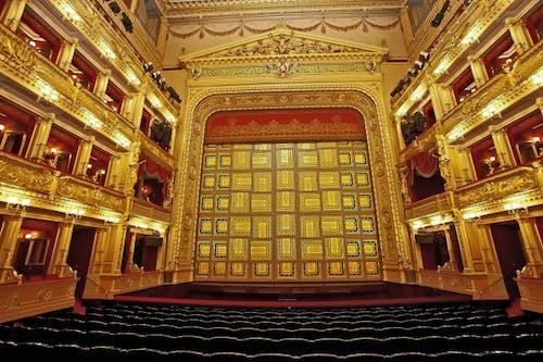 Národní divadlo - opona
