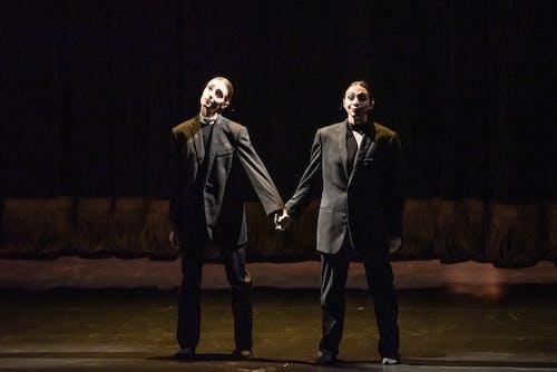 Sametové baletní Gala - No good - Matěj Šust, Jonas Dolonik, Mathias Deneux - Foto Sergej Gherciu