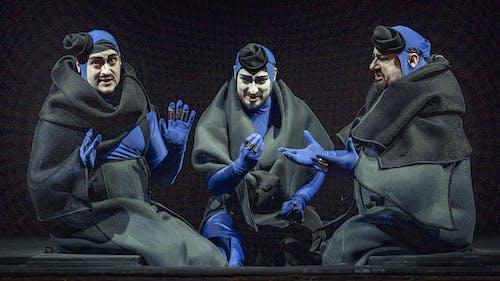 Turandot: Martin Šrejma, Jiří Hájek, Jaroslav Březina