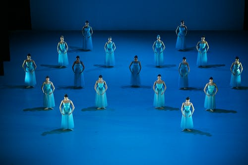 Balet Národního divadla – Timeless – Serenade – Foto: Dasa Wharton