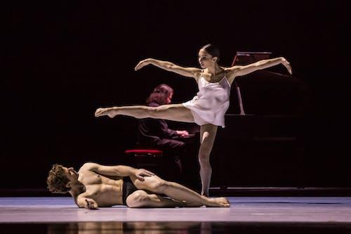 Balet Národního divadla – Timeless – Separate Knots – Morgane Lanoue, Federico Ievoli – Foto: Pavel Hejný