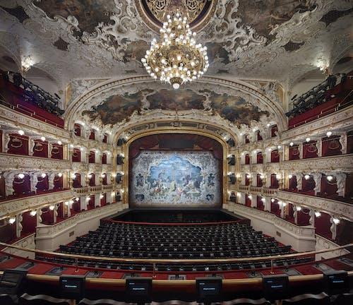 Státní opera - opona