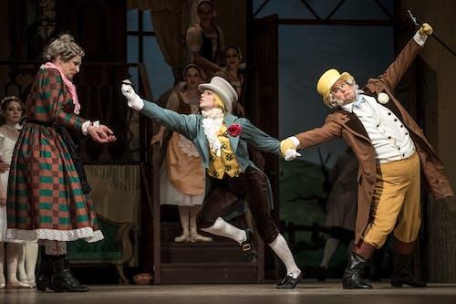 Balet ND - Marná Opatrnost | Alexandre Katsapov, Veaceslav Burlac, Tomáš Kopecký - foto: Martin Divíšek