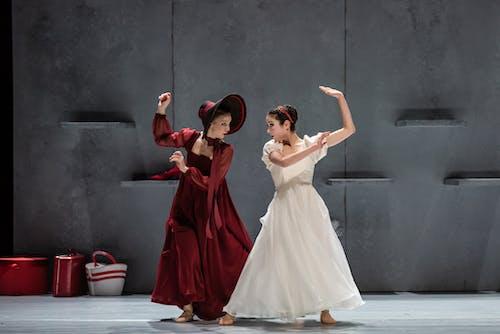 Balet ND - Leonce & Lena | Kristina Kornová, Magdalena Matějková - foto: Serghei Gherciu