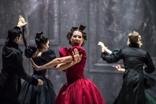 Balet ND - Leonce & Lena | Nikola Márová - foto: Martin Divíšek