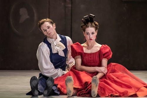 Balet ND - Leonce & Lena | Patrik Holeček, Nikola Márová - foto: Serghei Gherciu