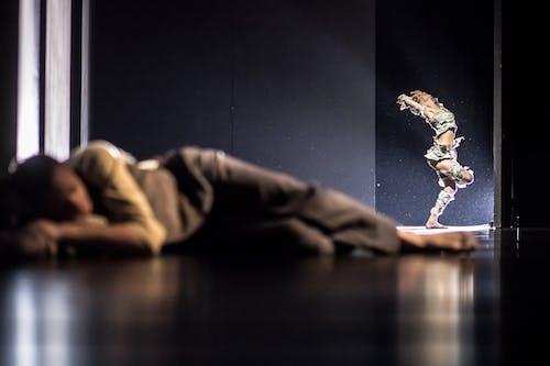 Balet ND - Kafka Proces | Giovanni Rotolo, Kristina Kornová - foto: Martin Divíšek