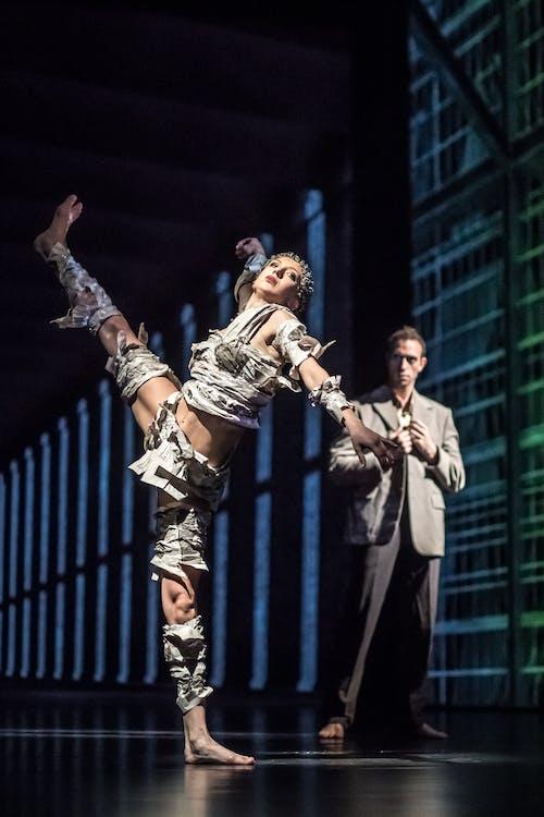 Balet ND - Kafka Proces | Kristina Kornová, Giovanni Rotolo - foto: Martin Divíšek