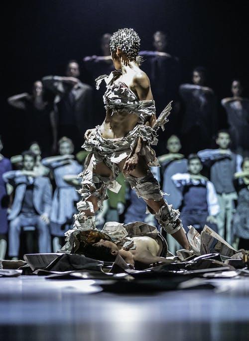 Balet ND - Kafka Proces | Kristyna Němečková - foto: Pavel Hejný