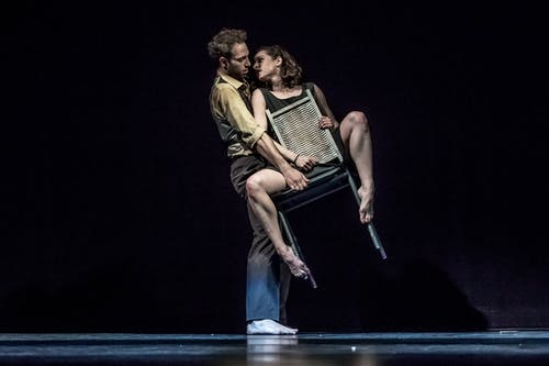 Balet ND - Kafka Proces | Maria Dorková, Giovanni Rotolo - foto: Martin Divíšek