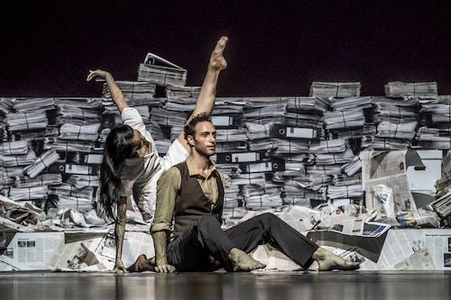 Balet ND - Kafka Proces | Miho Ogimoto, Giovanni Rotolo - foto: Martin Divíšek