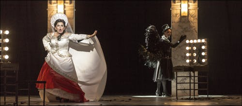 Opera ND - Maškarní ples | Veronika Dzhioeva, Veronika Hajnová - foto: Patrik Borecký
