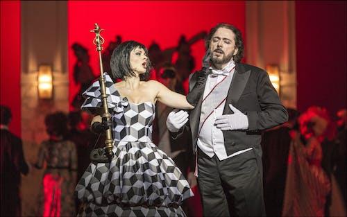 Opera ND - Maškarní ples | Marie Fajtová, Michele Kalmandy  - foto: Patrik Borecký