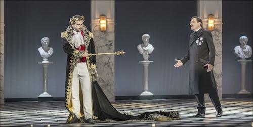 Opera ND - Maškarní ples | Peter Berger, Svatopluk Sem  - foto: Patrik Borecký