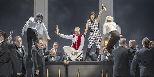 Opera ND - Maškarní ples | Oleg Korotkov, Svatopluk Sem, Peter Berger, Yukiko Kinjo  - foto: Patrik Borecký
