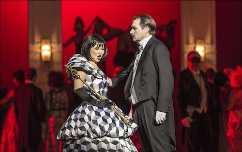 Opera ND - Maškarní ples | Yukiko Kinjo, Svatopluk Sem - foto: Patrik Borecký