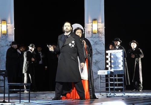 Opera ND - Maškarní ples | Michele Kalmandy, Anda-Louise Bogza - foto: Hana Smejkalová