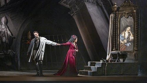 Opera SO | Tosca - Pavel Černoch a Petra Alvarez Šimková; foto: Patrik Borecký