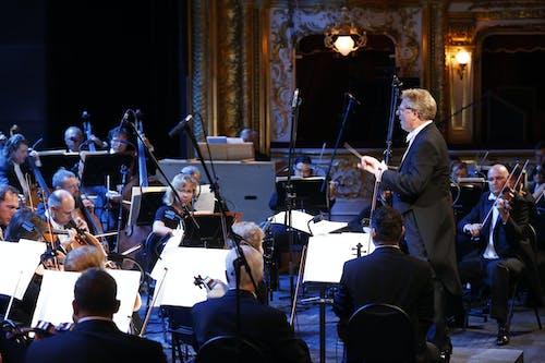 Musica non grata – zahajovací koncert SO 2020/2021   Dirigent Karl-Heinz Steffens a Orchestr Státní opery; Foto: Petr Horník