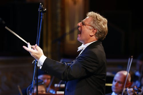 Musica non grata – zahajovací koncert SO 2020/2021   Dirigent Karl-Heinz Steffens; Foto: Petr Horník
