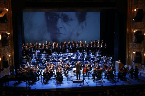 Musica non grata – zahajovací koncert SO 2020/2021   Orchestr a Sbor Státní opery; Foto: Petr Horník