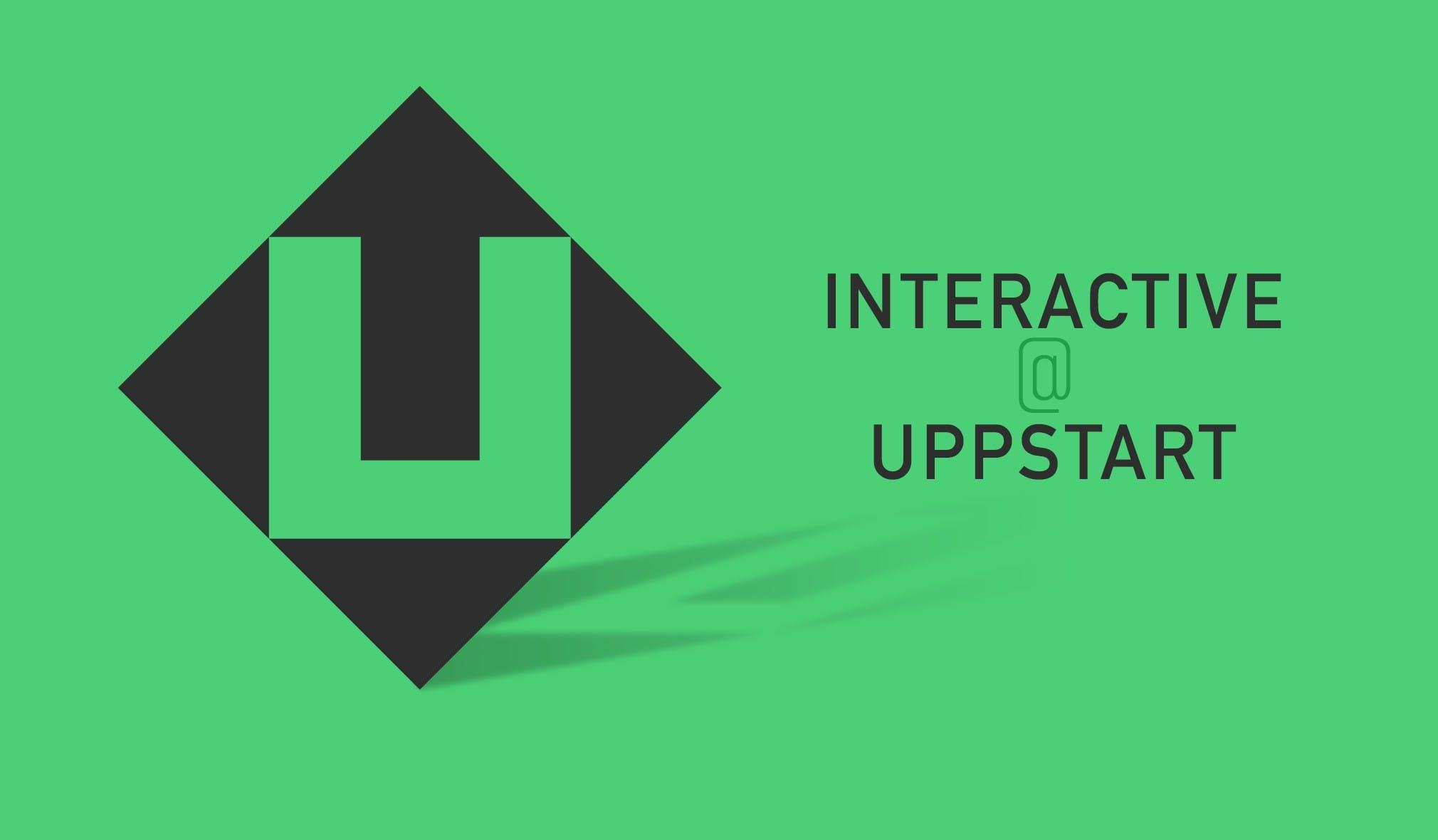 Interactive på Uppstart