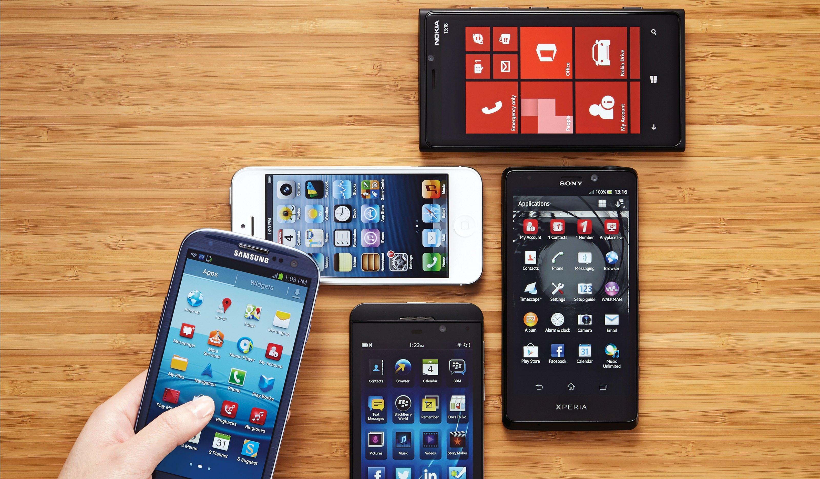 Smartphone och mjukvara