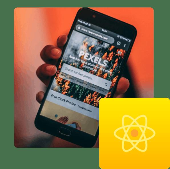 Vi utvecklar appar med React Native