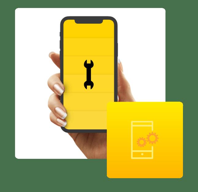 Vi underhåller din app