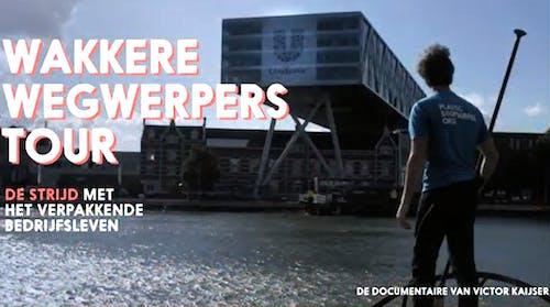 Op zaterdag 30 oktober gaat de video van Victor Kaijser over de Wakkere Wegwerpers Tour 2020 in première op het  Leiden International Film Festival