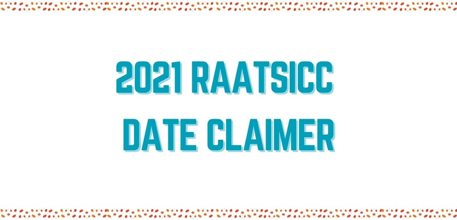 Events Date Claimer 2021
