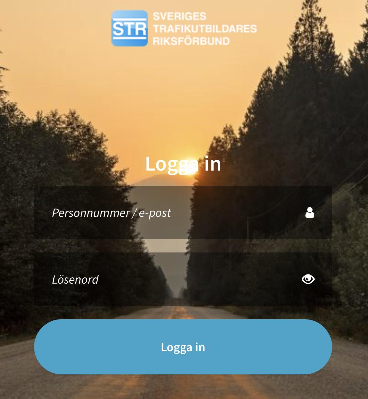 Digitalt teorimaterial med app