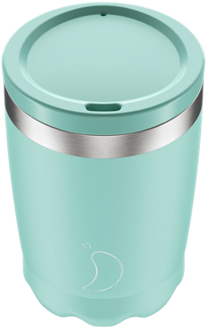 Chilly's Pastel Green Coffee Cup   Reusable Coffee Cups