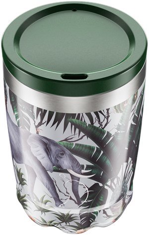 Chilly's Tropical Elephant Coffee Cup | Reusable Coffee Cups